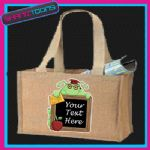 SCHOOL TEACHER GIFT PERSONALISED JUTE SHOPPING BAG 005